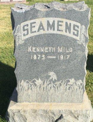 SEAMENS, KENNETH MILO - Garfield County, Colorado | KENNETH MILO SEAMENS - Colorado Gravestone Photos