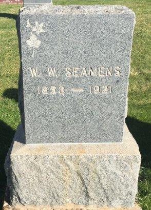 SEAMENS, W.W. - Garfield County, Colorado | W.W. SEAMENS - Colorado Gravestone Photos