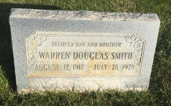 SMITH, WARREN DOUGLAS - Garfield County, Colorado | WARREN DOUGLAS SMITH - Colorado Gravestone Photos