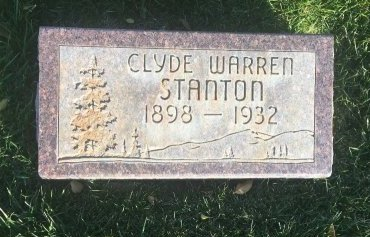 STANTON, CLYDE WARREN - Garfield County, Colorado | CLYDE WARREN STANTON - Colorado Gravestone Photos