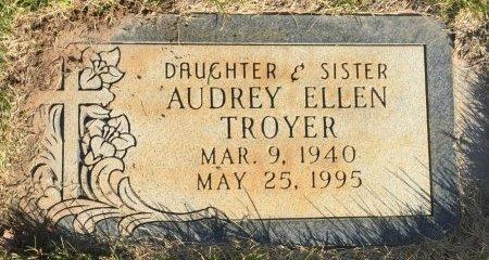TROYER, AUDREY ELLEN - Garfield County, Colorado | AUDREY ELLEN TROYER - Colorado Gravestone Photos