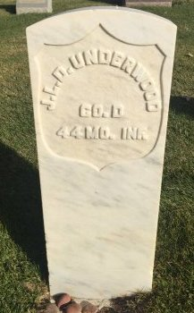 UNDERWOOD, J.L. D. - Garfield County, Colorado | J.L. D. UNDERWOOD - Colorado Gravestone Photos
