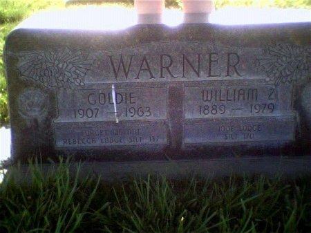 WARNER, WILLAM Z - Garfield County, Colorado | WILLAM Z WARNER - Colorado Gravestone Photos