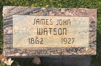 WATSON, JAMES JOHN - Garfield County, Colorado | JAMES JOHN WATSON - Colorado Gravestone Photos