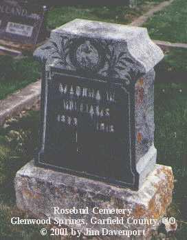 WILLIAMS, MARTHA W. - Garfield County, Colorado | MARTHA W. WILLIAMS - Colorado Gravestone Photos