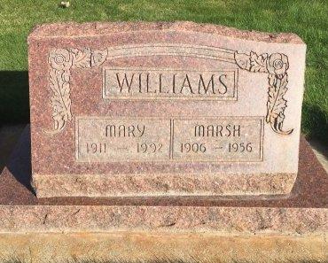 WILLIAMS, MARSH - Garfield County, Colorado | MARSH WILLIAMS - Colorado Gravestone Photos