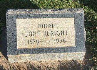 WRIGHT, JOHN - Garfield County, Colorado | JOHN WRIGHT - Colorado Gravestone Photos