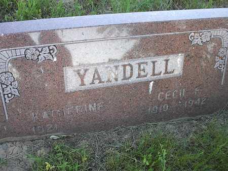 YANDELL, KATHERINE - Garfield County, Colorado   KATHERINE YANDELL - Colorado Gravestone Photos