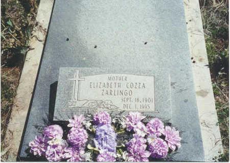 ZARLINGO, ELIZABETH - Garfield County, Colorado | ELIZABETH ZARLINGO - Colorado Gravestone Photos