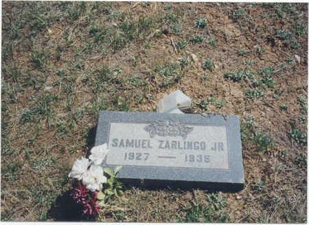ZARLINGO, SAMUEL JR. - Garfield County, Colorado | SAMUEL JR. ZARLINGO - Colorado Gravestone Photos