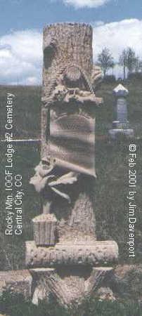 BROTHERSON, BERTINE - Gilpin County, Colorado   BERTINE BROTHERSON - Colorado Gravestone Photos