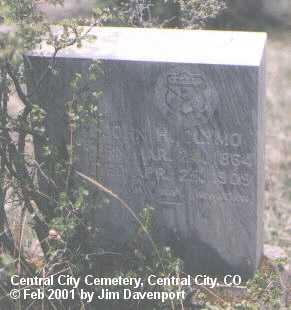CLYMO, JOHN H. - Gilpin County, Colorado | JOHN H. CLYMO - Colorado Gravestone Photos