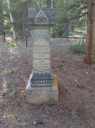 ELIZABETH, RICHARDS - Gilpin County, Colorado | RICHARDS ELIZABETH - Colorado Gravestone Photos