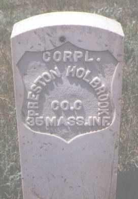 HOLBROOK, PRESTON - Gilpin County, Colorado | PRESTON HOLBROOK - Colorado Gravestone Photos