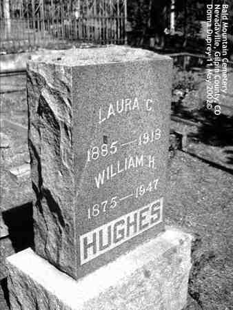 HUGHES, WILLIAM H. - Gilpin County, Colorado | WILLIAM H. HUGHES - Colorado Gravestone Photos