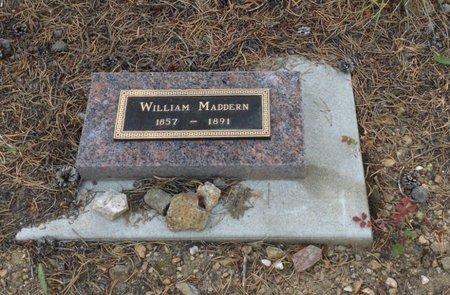 MADDERN, WILLIAM - Gilpin County, Colorado | WILLIAM MADDERN - Colorado Gravestone Photos
