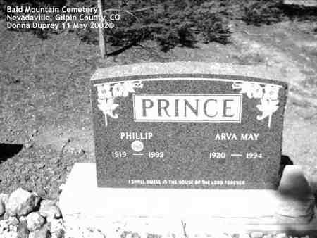 PRINCE, PHILLIP - Gilpin County, Colorado | PHILLIP PRINCE - Colorado Gravestone Photos