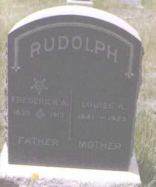 RUDOLPH, LOUISE K - Gilpin County, Colorado | LOUISE K RUDOLPH - Colorado Gravestone Photos