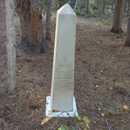 SAMUEL, NANKERVIS - Gilpin County, Colorado   NANKERVIS SAMUEL - Colorado Gravestone Photos
