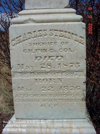 STEINLE, CHARLES - Gilpin County, Colorado | CHARLES STEINLE - Colorado Gravestone Photos