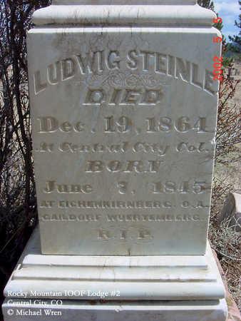STEINLE, LUDWIG - Gilpin County, Colorado   LUDWIG STEINLE - Colorado Gravestone Photos