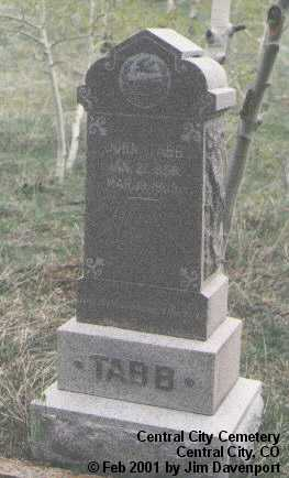 TABB, JOHN - Gilpin County, Colorado   JOHN TABB - Colorado Gravestone Photos