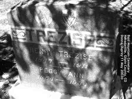 TREZISE, HENRY - Gilpin County, Colorado | HENRY TREZISE - Colorado Gravestone Photos