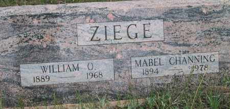 ZIEGE, WILLIAM OTTO - Gilpin County, Colorado | WILLIAM OTTO ZIEGE - Colorado Gravestone Photos