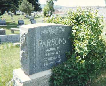 SHANKS PARSONS, CORNELIA E - Grand County, Colorado   CORNELIA E SHANKS PARSONS - Colorado Gravestone Photos