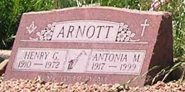 ARNOTT, ANTONIA M. - Gunnison County, Colorado | ANTONIA M. ARNOTT - Colorado Gravestone Photos