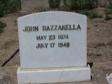 BAZZANELLA, JOHM - Gunnison County, Colorado | JOHM BAZZANELLA - Colorado Gravestone Photos