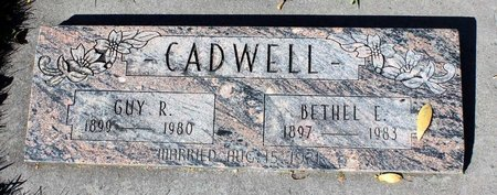 CADWELL, GUY R. - Gunnison County, Colorado | GUY R. CADWELL - Colorado Gravestone Photos