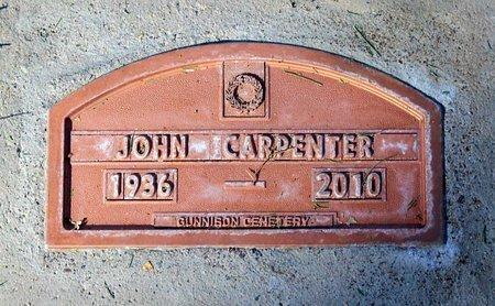 CARPENTER, JOHN - Gunnison County, Colorado | JOHN CARPENTER - Colorado Gravestone Photos