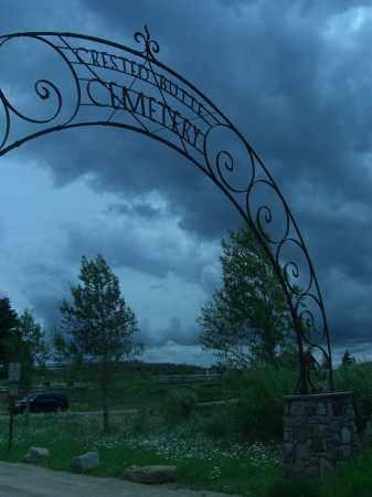 CRESTED, BUTTE - Gunnison County, Colorado   BUTTE CRESTED - Colorado Gravestone Photos