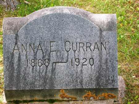 CURRAN, ANNA E. - Gunnison County, Colorado | ANNA E. CURRAN - Colorado Gravestone Photos