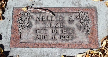 ELZE, NELLIE S. - Gunnison County, Colorado   NELLIE S. ELZE - Colorado Gravestone Photos