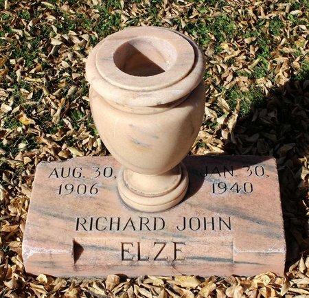 ELZE, RICHARD JOHN - Gunnison County, Colorado | RICHARD JOHN ELZE - Colorado Gravestone Photos