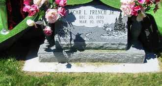 FRENCH JR., OSCAR LEE - Gunnison County, Colorado | OSCAR LEE FRENCH JR. - Colorado Gravestone Photos