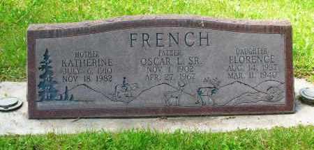FRENCH SR., OSCAR L. - Gunnison County, Colorado | OSCAR L. FRENCH SR. - Colorado Gravestone Photos