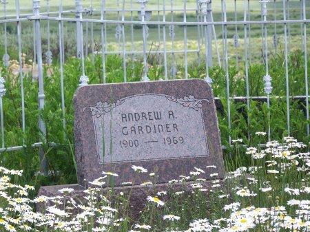 GARDINER, ANDREW A. - Gunnison County, Colorado | ANDREW A. GARDINER - Colorado Gravestone Photos