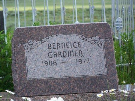 GARDINER, BERNEICE - Gunnison County, Colorado   BERNEICE GARDINER - Colorado Gravestone Photos
