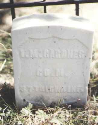 GARDNER, I. M. - Gunnison County, Colorado   I. M. GARDNER - Colorado Gravestone Photos