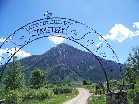 GATE, *CEMETERY - Gunnison County, Colorado | *CEMETERY GATE - Colorado Gravestone Photos