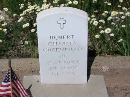 GREENFIELD (VETERAM), ROBERT CHARLES - Gunnison County, Colorado | ROBERT CHARLES GREENFIELD (VETERAM) - Colorado Gravestone Photos