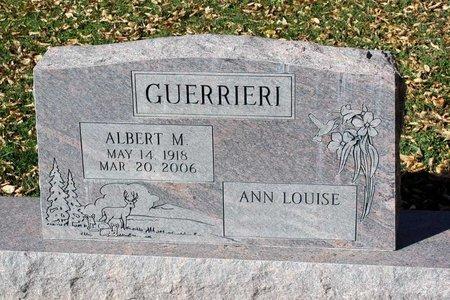GUERRIERI, ALBERT M. - Gunnison County, Colorado | ALBERT M. GUERRIERI - Colorado Gravestone Photos