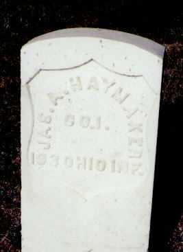 HAYMAKER, JAS. A. - Gunnison County, Colorado | JAS. A. HAYMAKER - Colorado Gravestone Photos