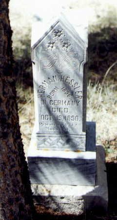 HESSLER, HERMAN - Gunnison County, Colorado | HERMAN HESSLER - Colorado Gravestone Photos
