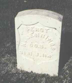 JENNINGS, N. - Gunnison County, Colorado   N. JENNINGS - Colorado Gravestone Photos