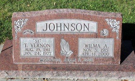 JOHNSON, T. VERNON - Gunnison County, Colorado | T. VERNON JOHNSON - Colorado Gravestone Photos