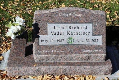 KATHEISER, JARED RICHARD VADER - Gunnison County, Colorado | JARED RICHARD VADER KATHEISER - Colorado Gravestone Photos